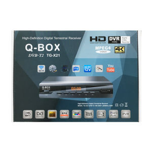 Q-BOX TG-X21 DVB-T2 HD TV Receiver ฟรีช่อง IPTV IKS CCCAM