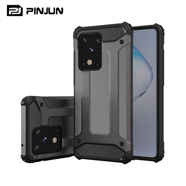 2 in1 Rugged Impact Shockproof Hard Slim Armor Phone Case For Samsung Galaxy S20 Ultra Plus S10 Note 20 Note10 Series Back Cover