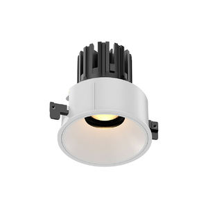 ליהוק נגד בוהק 8W 10W ניתן לעמעום שקוע אור LED COB downlight עבור מלון פרויקט