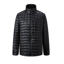 Hot sale casual custom made  winter  light weight packable mens down jacket with Toray 20D nylon fabric