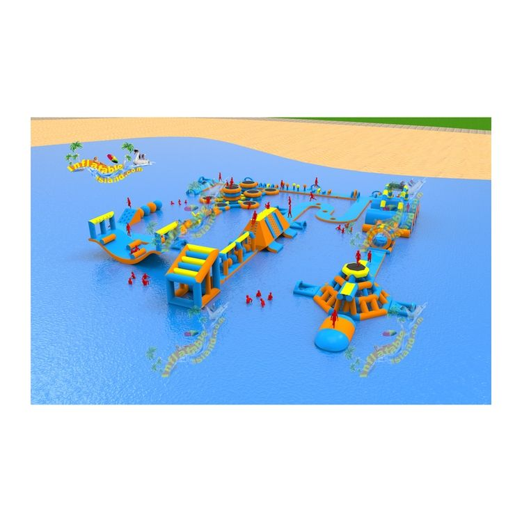 Hohe qualität wolong preise schwimm land aufblasbare wasser <span class=keywords><strong>park</strong></span>
