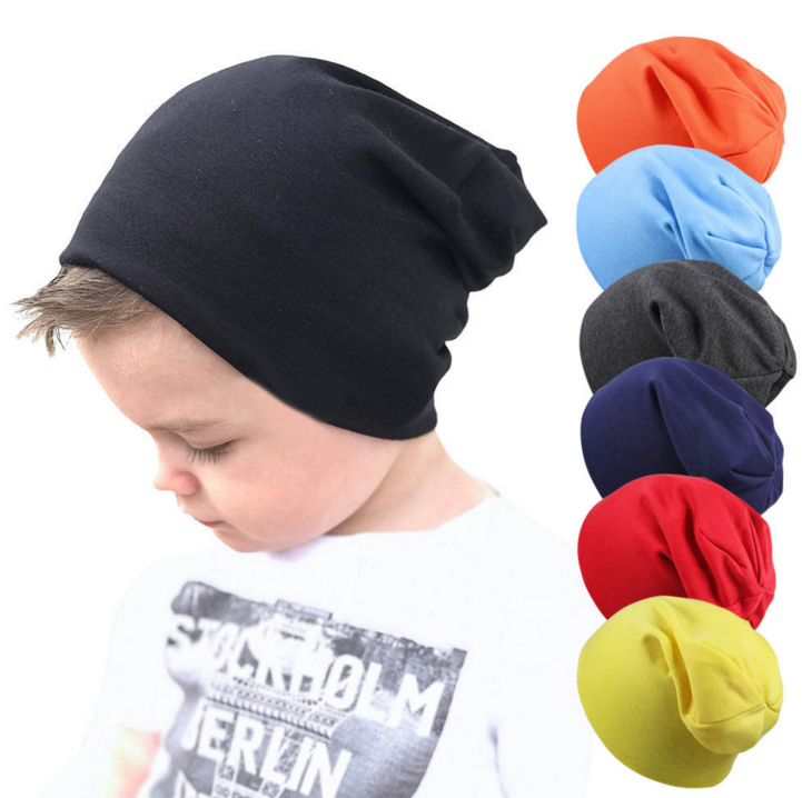 Baby Boy's Beanie Hats Cotton Skull Caps for Toddlers Kids Little Boys 6-48 Months