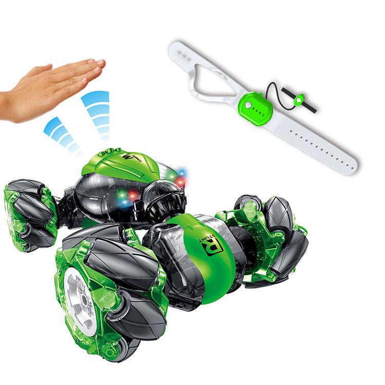 1:18 ışık Mini algılama hareket Rc büküm dublör oyuncak kol saati uzaktan kumanda arabalar