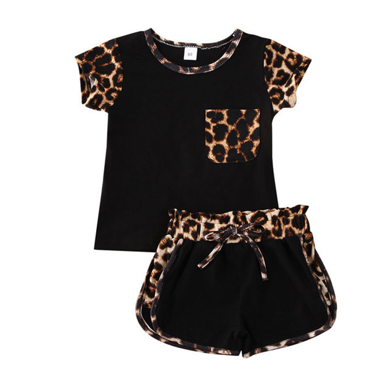Hot sale children fashion wear clothing 2pcs casual baby clothes sets kids clothing girls girls set