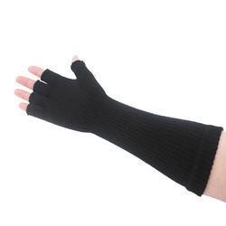 Winter custom long cuff ladies magic gloves