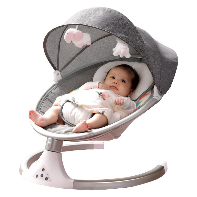 baby rocker swing infant electric automatic swing bed bouncer