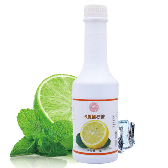 Healthy Lemon drink Juice Fruit 1KG Concentrated Drink Pulp Various flavor Soft Drink for Beverage Cocktail Mojito