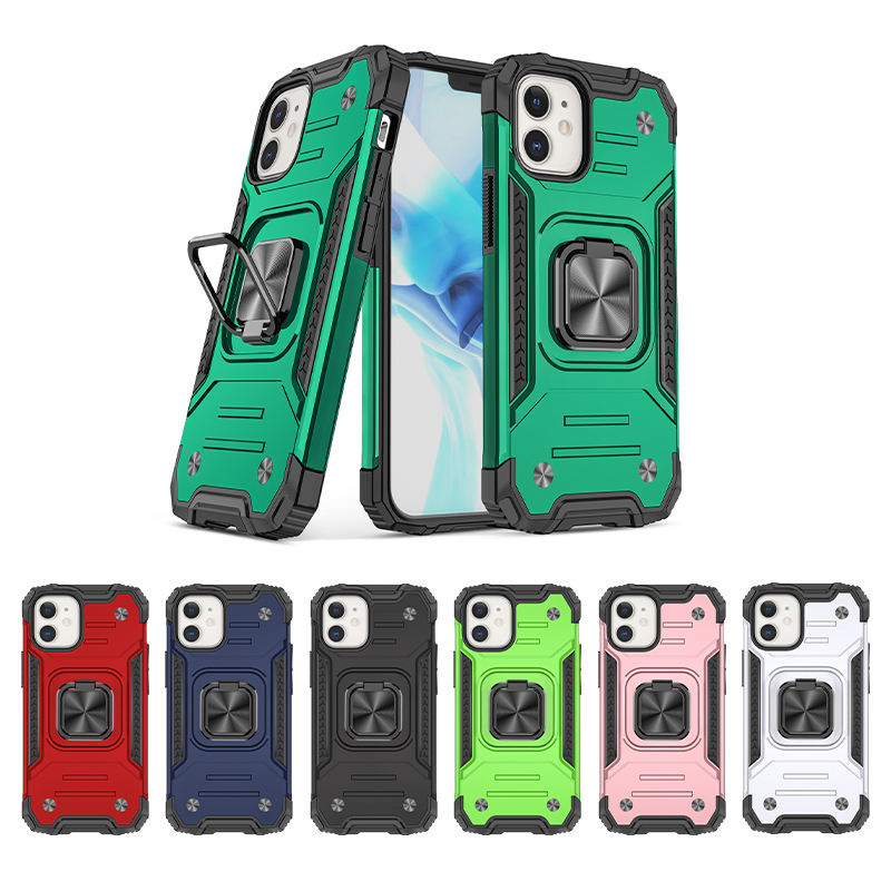 2020 New Product magnetic Cell Phone Case For Iphone 12 kickstand Phone Case For Iphone 11