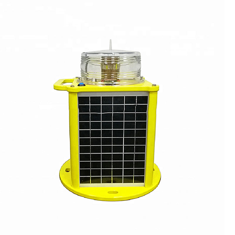 Bluetooth remote control marine solar powered navigation lantern