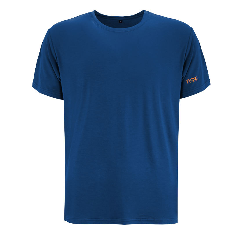 2020 new arrivals classic blue custom mens blank bamboo spandex t shirts