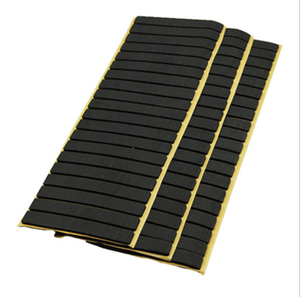 Fire resistant fingerboard electronic neoprene insulation foam tape