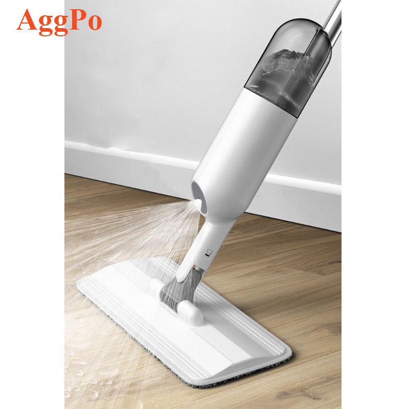 Spray Mop, Strongest Heaviest Duty Mop, Best Floor Mop Easy to Use 360 Spin Non Scratch Microfiber Mop with Integrated Sprayer