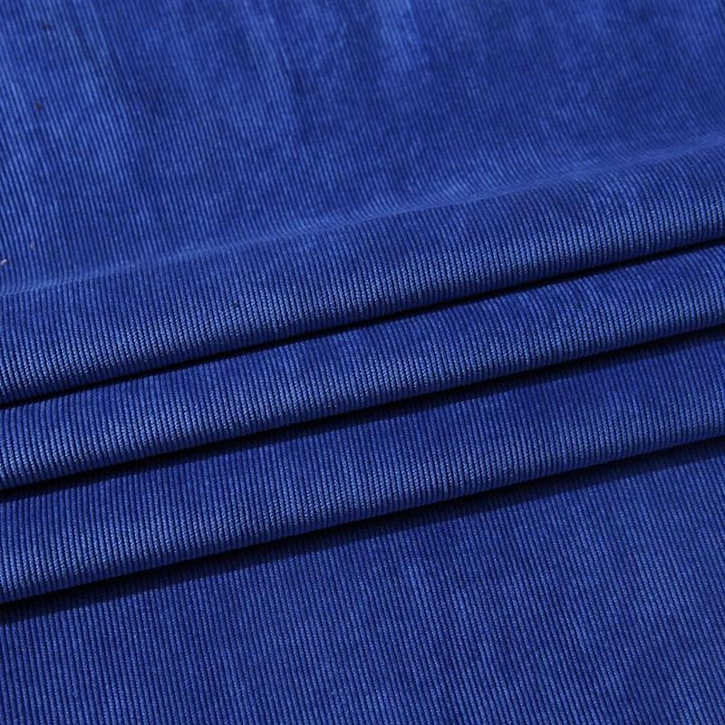2020 wujiang factory 100 polyester 21 wale corduroy fabric for upholstery garment