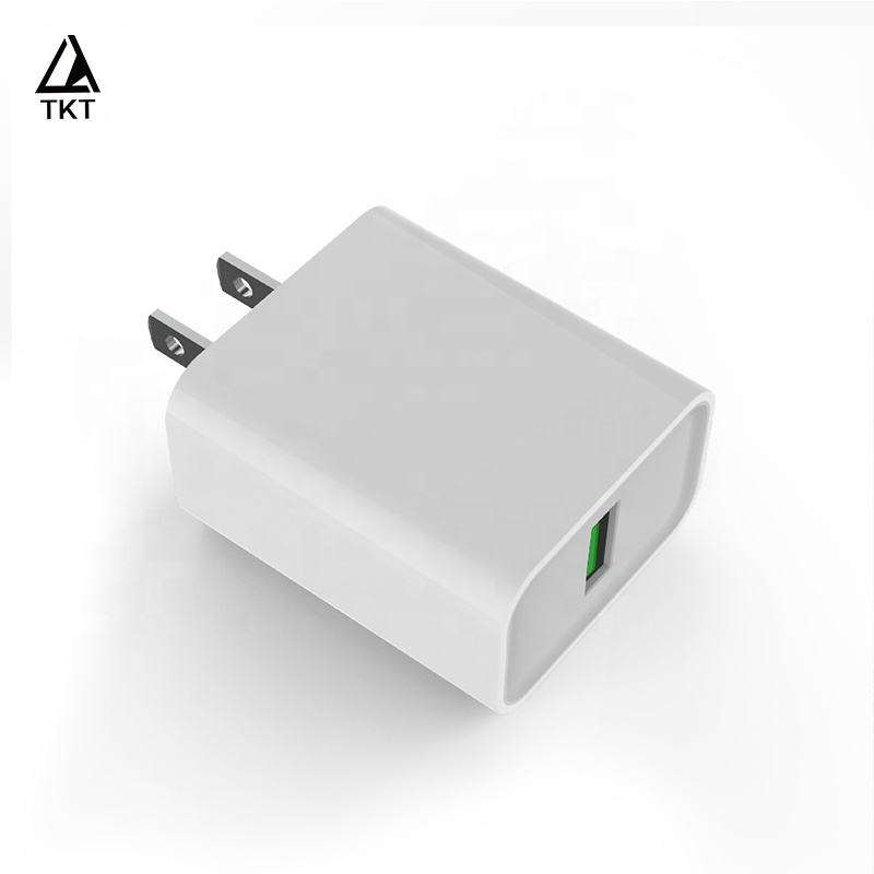FCC U L certified mobile phone US wall charger