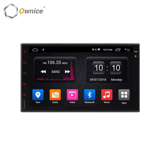Octa 8 Core Android 9.0 2G RAM 64GB ROM Support 4G LTE SIM Network 2Din Android Universal Car DVD Radio