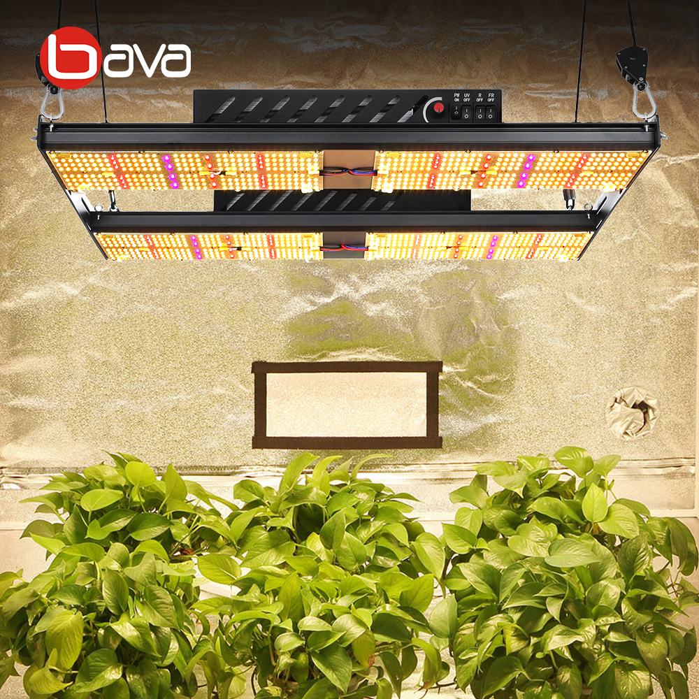 Bava Samsung UV LED Grow Plant Light Quantum Lamp HPS 1000w From China Vertical Farming lm301h LED Grow Light for Indoor Garden
