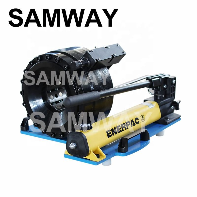 "Samway manual hose crimping machine up to 1 1/2"" hose P20HP"