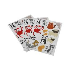 Printing Paper Sticker Sheet Animal Dog Stickers for Baby