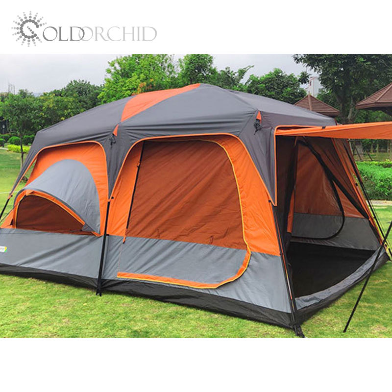 460cm*305cm*215cm 8 Person Cheap Luxury Tents Camping Outdoor Large Family