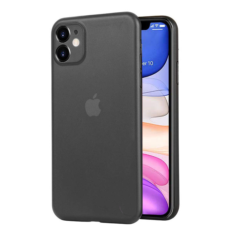 Colorido Ultra Fino Fosco Fosco Fino Caso Back Covers para o iphone X XS PP para iPhone Caso 11 Pro Max