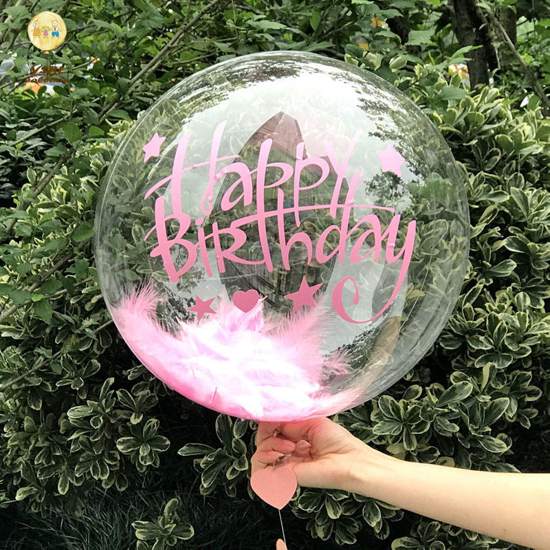 Christmas Gifts 2019 Hot Selling Cheap Price 18inch Helium Globos Plastic Bubble Balloon WIth Perfect Round Shape