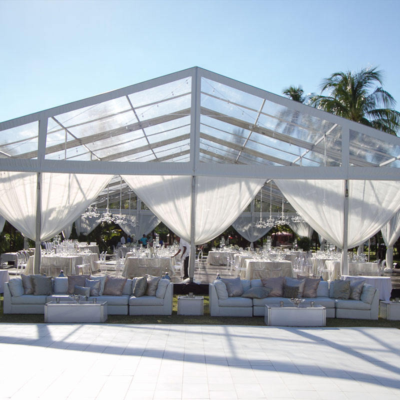 Cheap big white PVC outdoor warehouse storage wedding party tent for sale