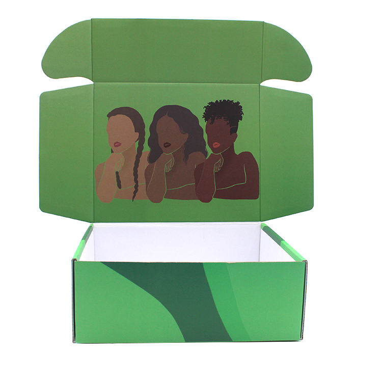 2020 custom logo corrugated paper box carton folding shipping cardboard gift packaging boxes