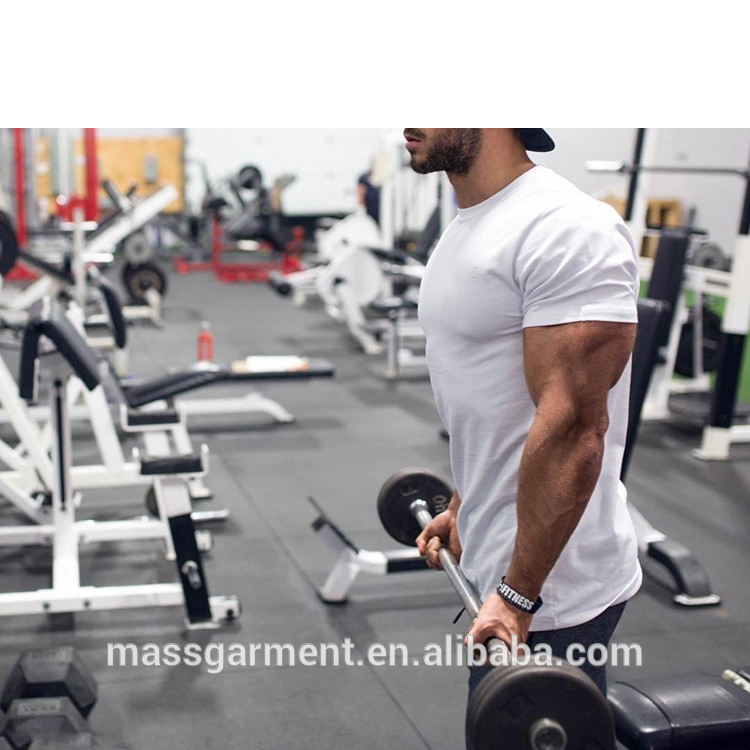 Fashion muscle t shirt men bodybuilding t shirt wholesale