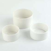 Custom Design 4.5 inch 500ml Plain White Ceramic Porcelain Round Soup Service Bowls