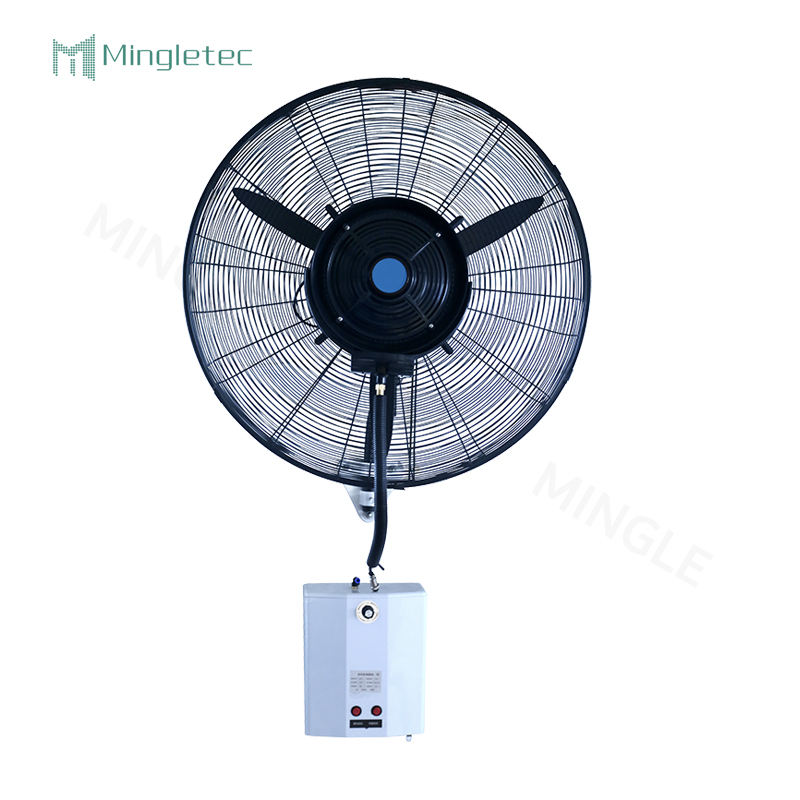 26 inch High speed wall mounted industrial water cooling mist fan
