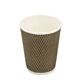 8/12/14/16OZ Mig corrugated cup disposable custom ripple wall coffee paper cup