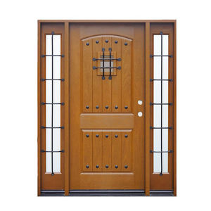 Quality luxury classic cast iron stove entry doors entrance door wood