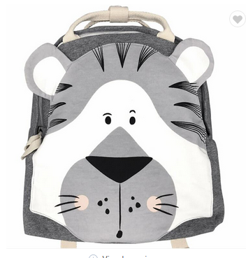 INS Hot Selling Zoo Toddler Kids Backpacks Cute Plush Little Girls Boys Animal Backpacks