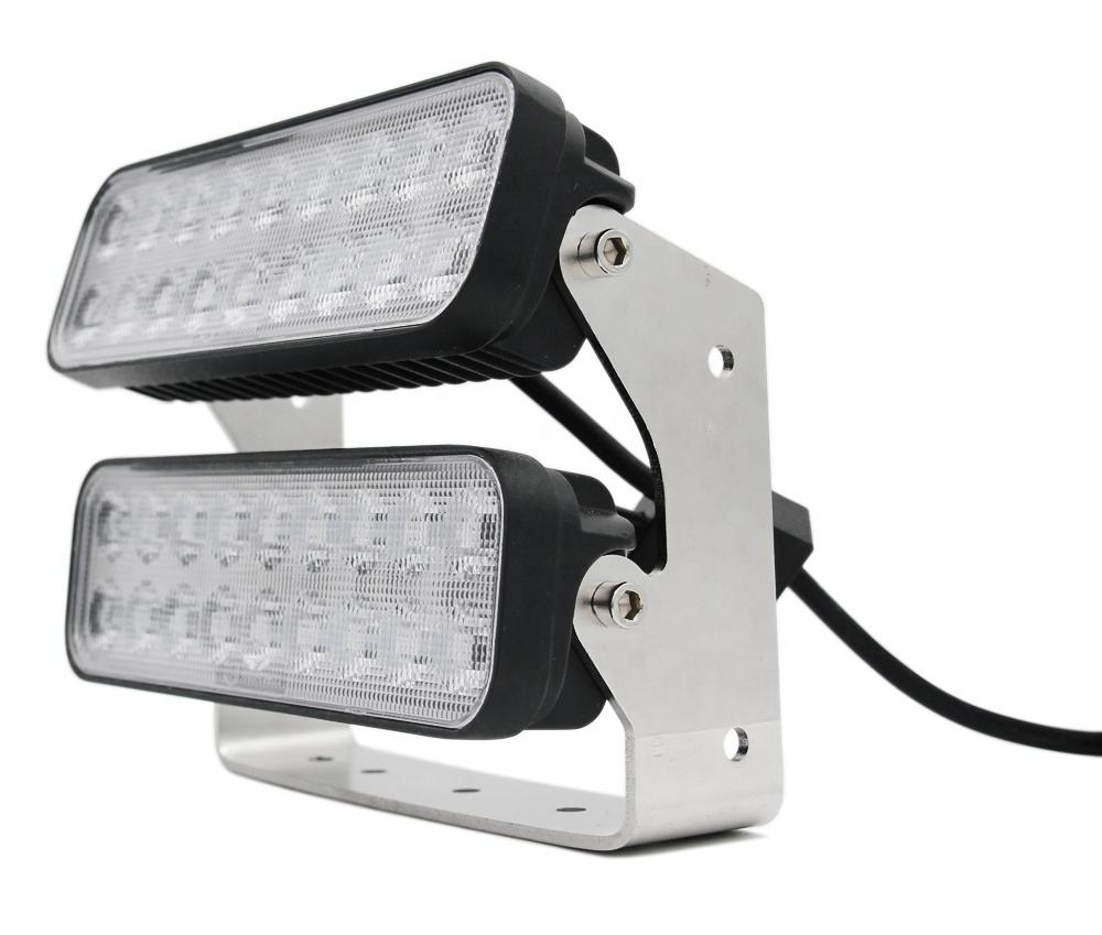 Double-decker IP69K rectangle 108w offroad led tractor working lights