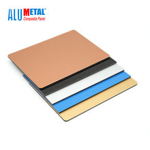 "Alumetal 3/4"" 2 mm 4mm Dibond Aluminum Composite Sheet Panel PVDF"