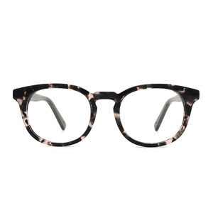 Top Supplier Custom Wholesale Made Retro Style Round Shape Luxury Metal Acetate Optical Eyeglass Frames