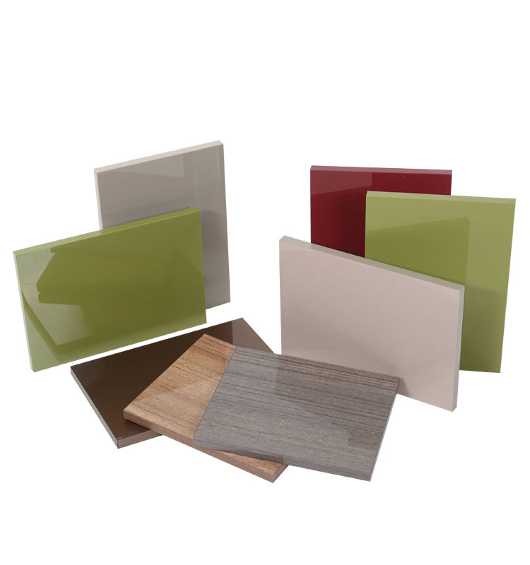 FDA certification high gloss laminate sheet caramel colour 4x8 Plastic Rigid Anti-scratch PETG Sheet 0.8mm