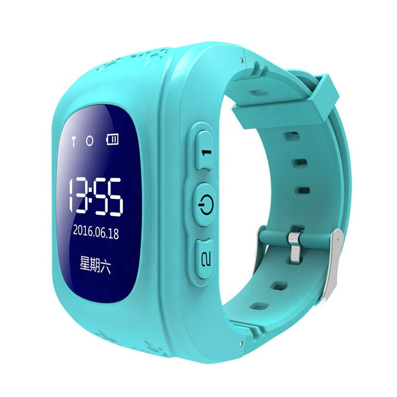 Child GPS Tracker Smart Baby Watch Kids Q50 Smartwatch for Children with SIM Phone SOS Function