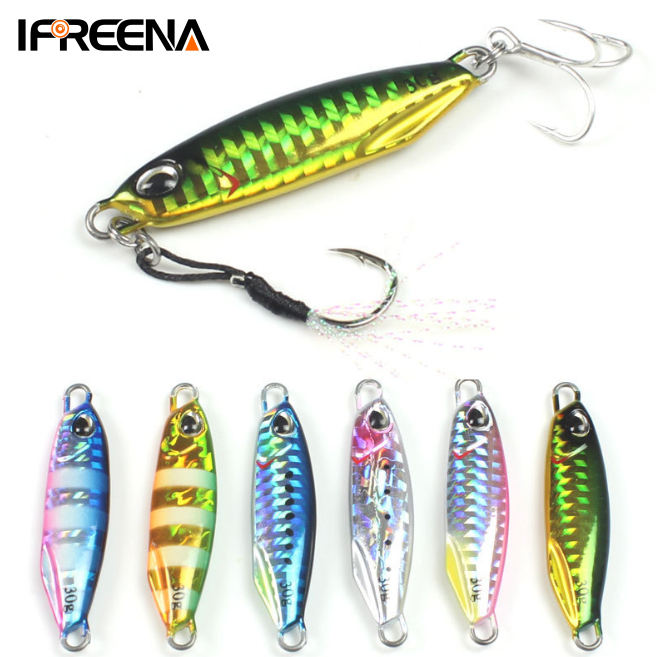 China factory 15g/20g/30g saltwater casting jigging lure metal lead jig duo fishing lures