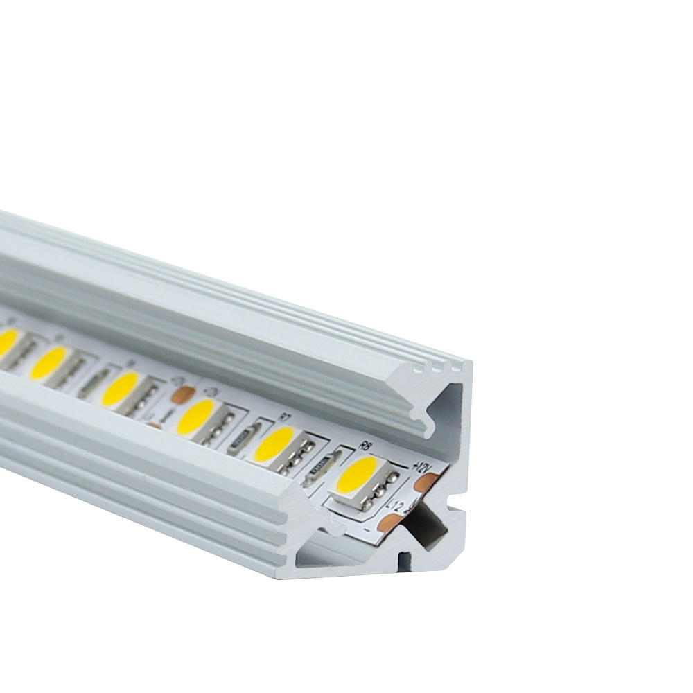 LvSen Surface Mounted Aluminum Profiles For LED Lights Strip square LED Aluminum Channel