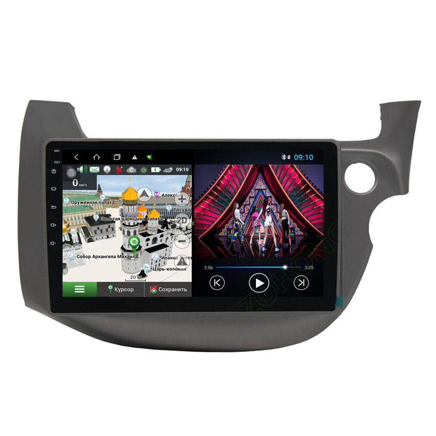 DSP 4G Octa 8 core android 10 автомобильный DVD мультимедийный плеер для Honda FIT JAZZ RHD Авторадио автомобильный GPS-навигатор Радио стерео WIFI