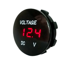 China Manufacturer Car Voltmeter Motorcycle Boat LED Digital Display 5-48V Waterproof Voltmeter