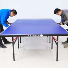 International Standard Size Branded Indoor Ping Pong Table Tennis Table Set