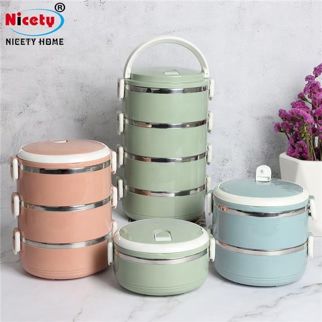 Nicety wholesale food plastic containers take away food containers vacuum food storage containers