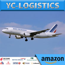 FBA Amazon logistics agent air freight shipping cost from China to Canada Australia Dubai