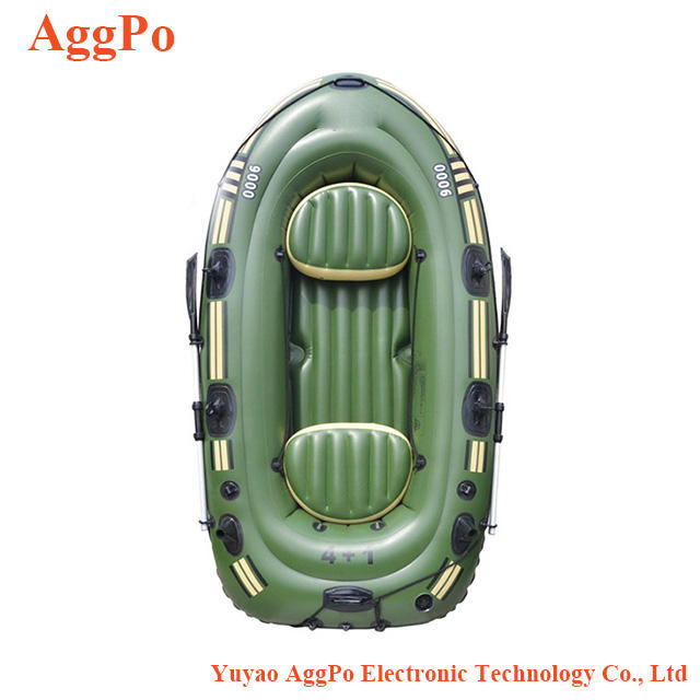 Thickened outdoor fishing boat double 3 people 4 people 5 people 6 people inflatable, drifting, rubber, kayaking