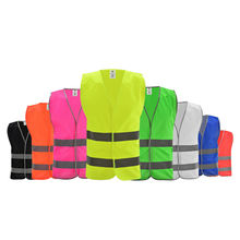 Wanxiao Hi vis high visibility reflective safety vest security clothing with high reflective tape