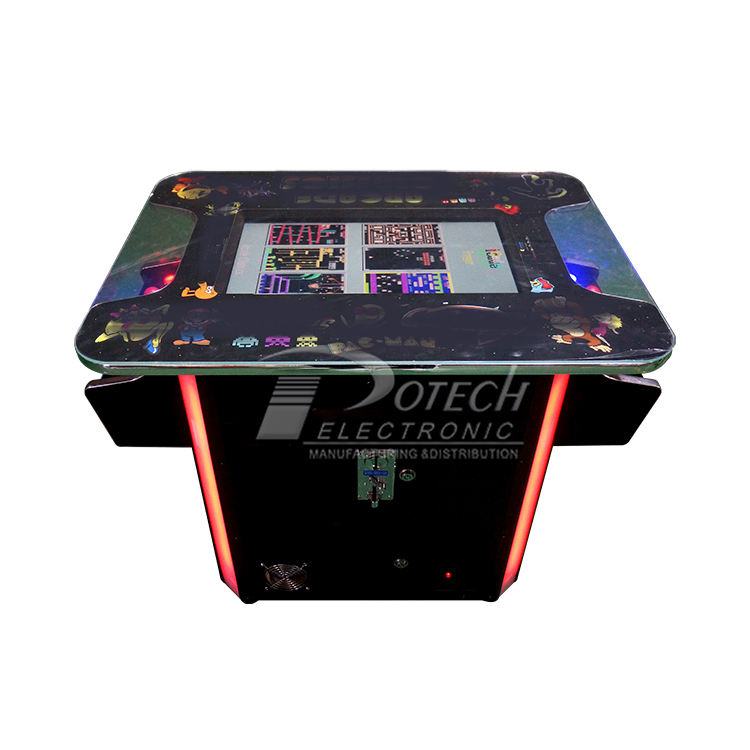 22 inch 2 player led Cocktail Table Top Arcade Machine with 60 in 1 Joystick Cabinet