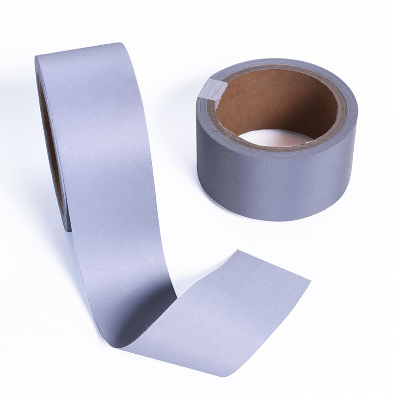 Hot Selling hi visible Industrial Washing Reflective TC Fabric Tape Sew on Clothing