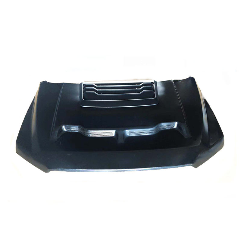 FiberGlass Engine hood For F150 2015 + accessories bonnet parts hood from Miaker